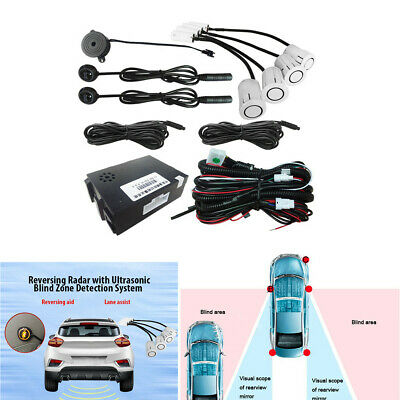 Car Rear View Reversing Blind Spot Monitoring BSM Radar Ultrasonic Sensor System