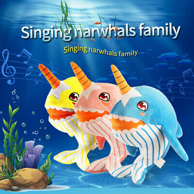 2019 Baby Shark Plush Singing Plush Toys Music Doll English Song Toy Gift New US