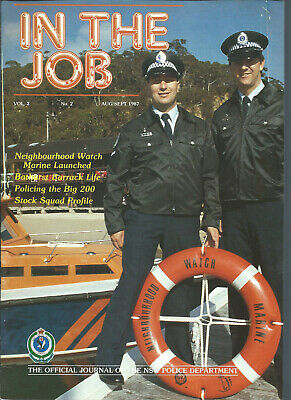 In The Job - NSW Police Journal - Vol 2 No 2