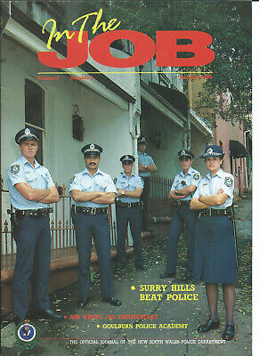 In The Job - NSW Police Journal Vol 3 No 5