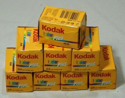 8 Rolls of Vintage 35mm Kodak Color Plus in Sealed Boxes Thames Hospice B 114 A