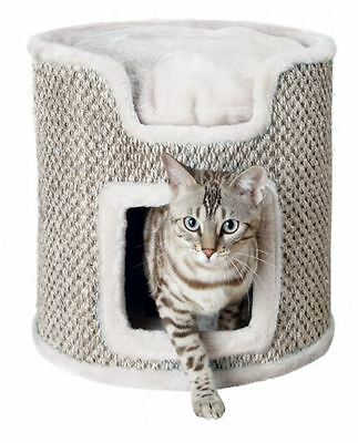 Trixie Cat Tower Ria, 37 cm, lichtgrau