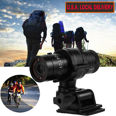 Mini Gun Cam 1080P DV Mount Bike Bicycle Helmet Sports Action Camera For Hunting