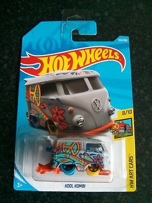 Hot Wheels FJW77	2018	HW Art Cars	8/10	Volkswagen	Kool Kombi	353/365		Long Card