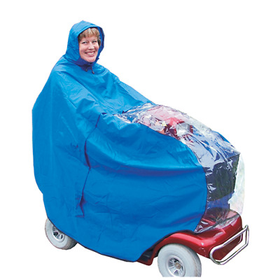 Mobility Scooter Waterproof Rain Cover -Kozee Scooter Cape For Mobility Scooter
