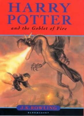 Harry Potter and the Goblet of Fire By J.K. Rowling. 9780747546245