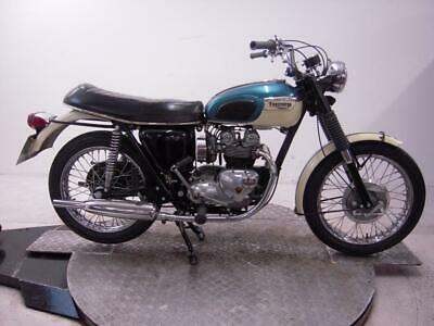 1969 Triumph T100C Tiger Trophy UK Registered US Imported Classic British Bike