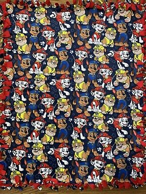 Paw Patrol Fleece Tie Blanket