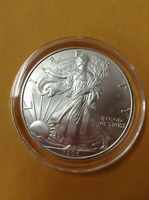 1996 American Silver Eagle - UNCIRCULATED - FREE SHIPPING!