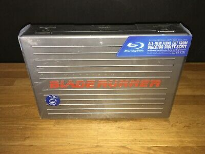Blade Runner Blu-Ray Ultimate Collectors Edition Sci-Fi Briefcase Set - Sealed!