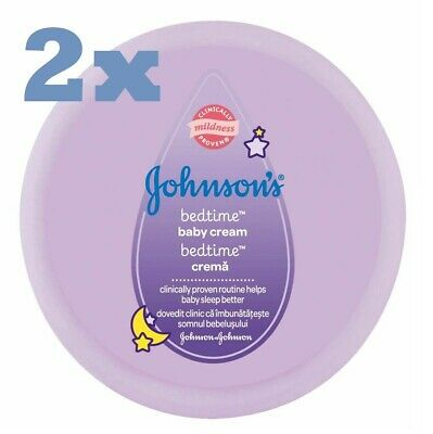Johnson's Baby Bed Time Body Cream with Lavander for Better Sleep 200 ml 2 Pack