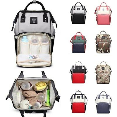 LEQUEEN Baby Diaper Bag Mummy Bag Maternity Nappy Travel Handbag Backpack