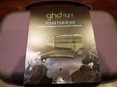ghd Flight Travel Hair Dryer Nocturne Collection Ltd Edition NEW