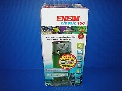 NEW EHEIM Classic 150 - External Canister Filter - Up to 40 Gallons 2211 READ! ^