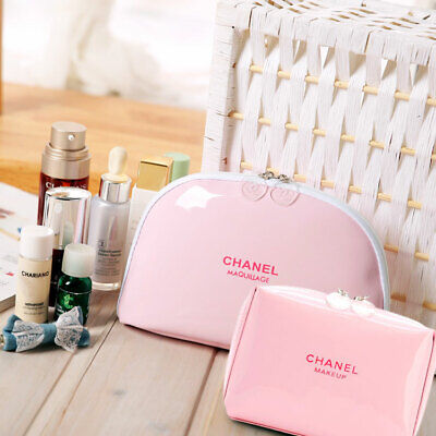 fa2feeaa23e8 Chanel Beaute VIP Gift Maquillage Cosmetic Makeup Pink Bags Beauty New case  2019