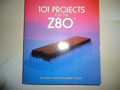"""""""101 Projects For The Z80"""" + Z80 Emulator Plans & Z80 SBC Board (TRS80 CPU)"""