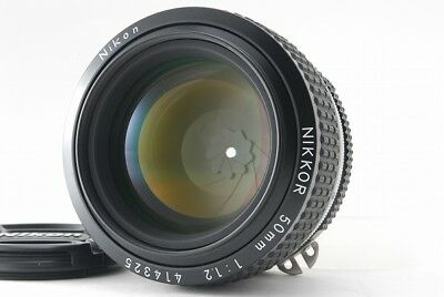 [Mint , Almost unused  in Box] Nikon Nikkor Ai-S 50mm F/1.2 Lens From Japan #6