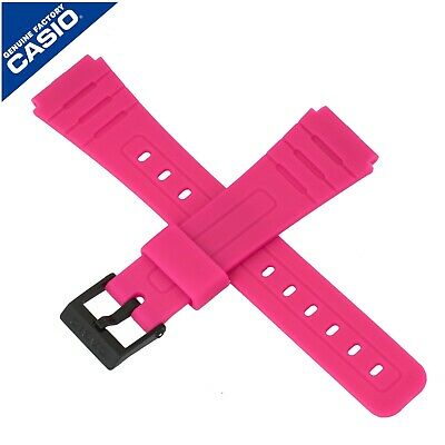 Genuine Casio Watch Strap Band for F-91WC-4A F 91WC F 91W 91 PINK 10361903