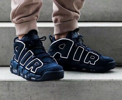 Nike Air More Uptempo 96 Obsidian UK Size 12 SOLD OUT