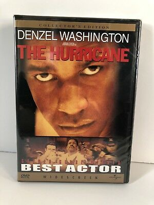 The Hurricane DVD Collectors Edition Denzel Washington Brand New Sealed