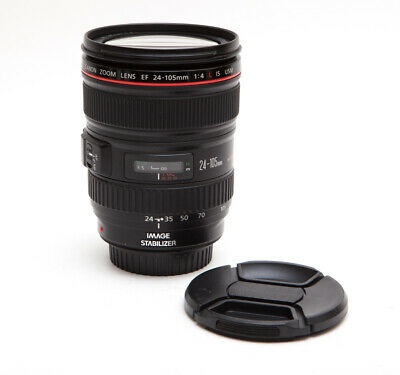 Canon EF 24-105mm 105 f/4L f/4 L f4L USM - SHARP! USA Model