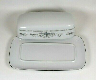 Diane by Wade Japan Porcelain China Butter Dish