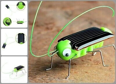 Grasshopper Robot Toy Solar Powered Educational Gadget No Batteries Required Kid