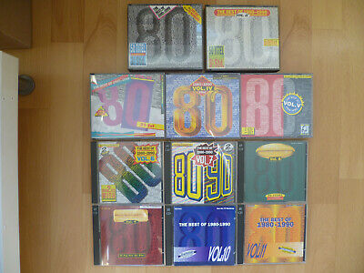 THE  BEST  OF  1980  -  1990    -    Vol. 1  -  11     -    24   CDs