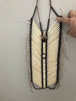 Native American Bone Breast Plate (Osage)adult Size Handmade.