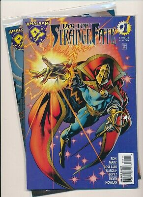 Amalgam Comics Set of 2- DOCTOR STRANGE FATE#1 /DARK CLAW #1 VF+ (PF734)