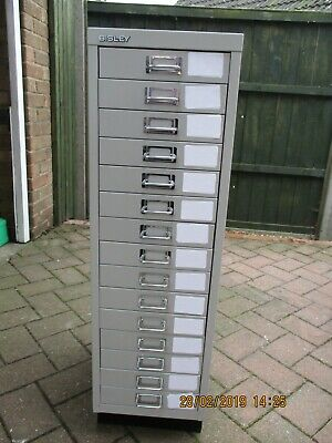 Bisley - 15 Multi Drawer Filing Cabinet