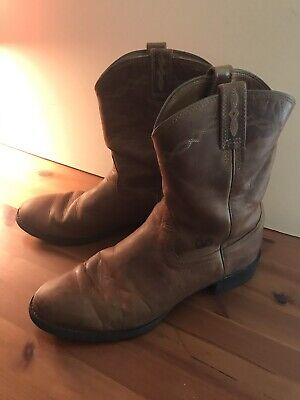 a8ad393f87d ARIAT MEN'S HERITAGE Roper Western Boots Distressed Brown 13 D Cowboy