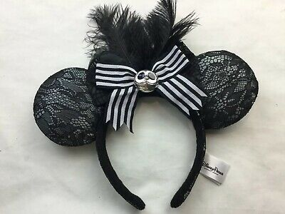 Nightmare Before Christmas Minnie Mouse Ears-2