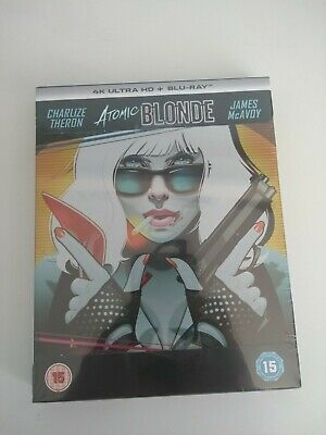 Atomic Blonde Steelbook 4K UHD 4K Ultra HD + Blu-ray