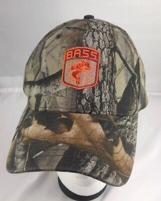 BASS Bass Anglers Sportsman Society Camouflage SnapBack Hat