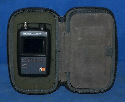 KVE520A Antenna Analyzer &Multiple Adapters VHF/UHF VU Vector Impedance SWR Test