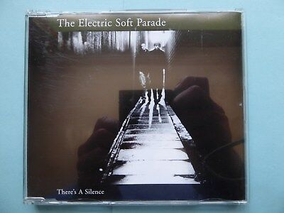 The Electric Soft Parade 'There's A Silence' 3-track CD 2001 NEW