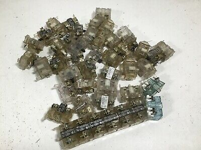 *Used Lot Of 46* Westinghouse PB1B & PB1A Contact Blocks