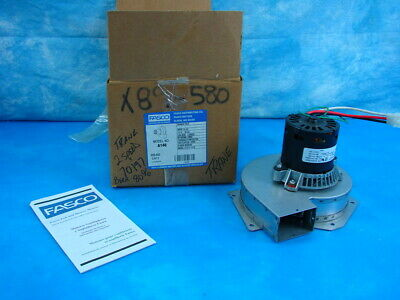 New OEM Fasco Draft Inducer Blower Motor Assembly 70219416 A146 HVAC Part 2speed
