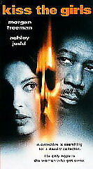 Kiss the Girls (VHS, 1998) New Sealed VHS Tape Morgan Freeman Ashley Judd FS!