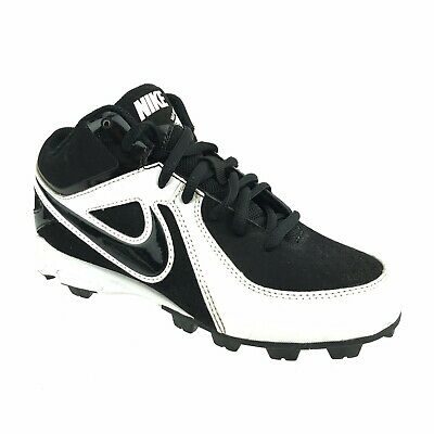 the best attitude a2c54 c69af Nike Boys MVP Keystone Baseball Cleats Youth Size 2 Black   White