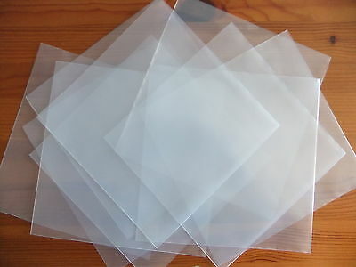 "10 x 7"" inch Vinyl Single Plastic Polythene Record Sleeve Covers 450 Gauge RSD19"