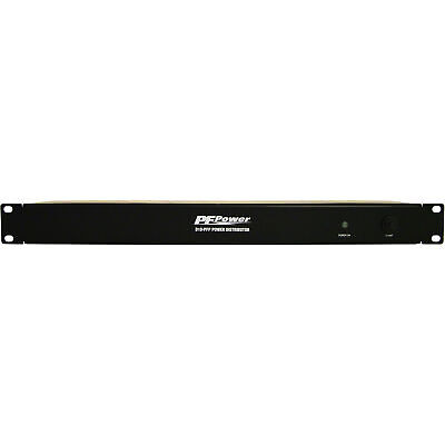 Furman D10-PFP 1U Rack Space Power Distributor with 10x Outlets 15 Amp