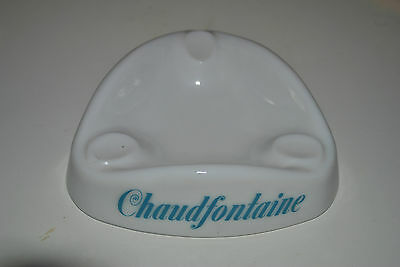 Vintage. Ancien cendrier CHAUDFONTAINE OPALEX. Asbak Ashtray