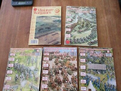 MINIATURE WARGAMES MAGAZINE #133 Fantasy 18th 19th Century