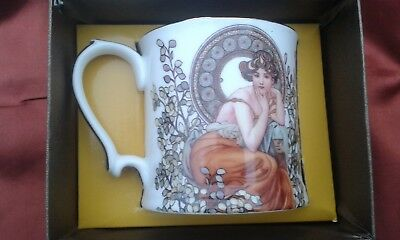 Taza Alfons Mucha Limited Edition Queen Isabell