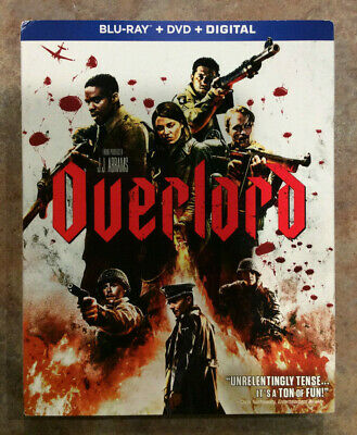 Overlord (Blu-Ray + DVD + Digital, 2019) New W/ Slipcover - Free Shipping -