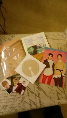"""New-Lot of 9- GOT7 items Flight Log, cards, cd-""""Arrival"""", song and pic books"""
