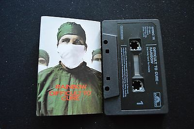 Rainbow Difficult To Cure Ultra Rare Cassette Tape!