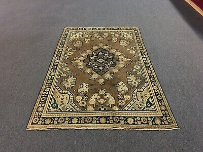 """On Sale Antique Traditional Hand Knotted Persian Mahal,flora rug,Carpet 4'x6'4"""""""